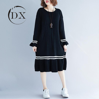 Lady Plus Size Long Mermaid Cashmere Knitted Sweater Dress, View cashmere  sweater woman, Product Details from Guangzhou Di Xuan Garment Co., Ltd. on  ...