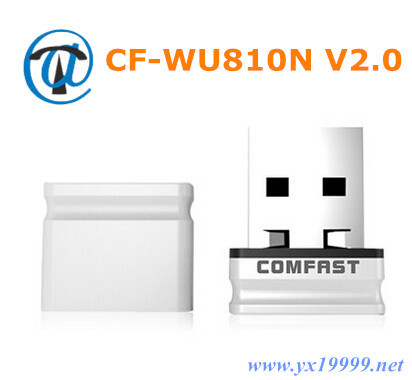 Newest wireless adapter 150Mbps pocket wifi adapter COMFAST CF-WU810N V2.0