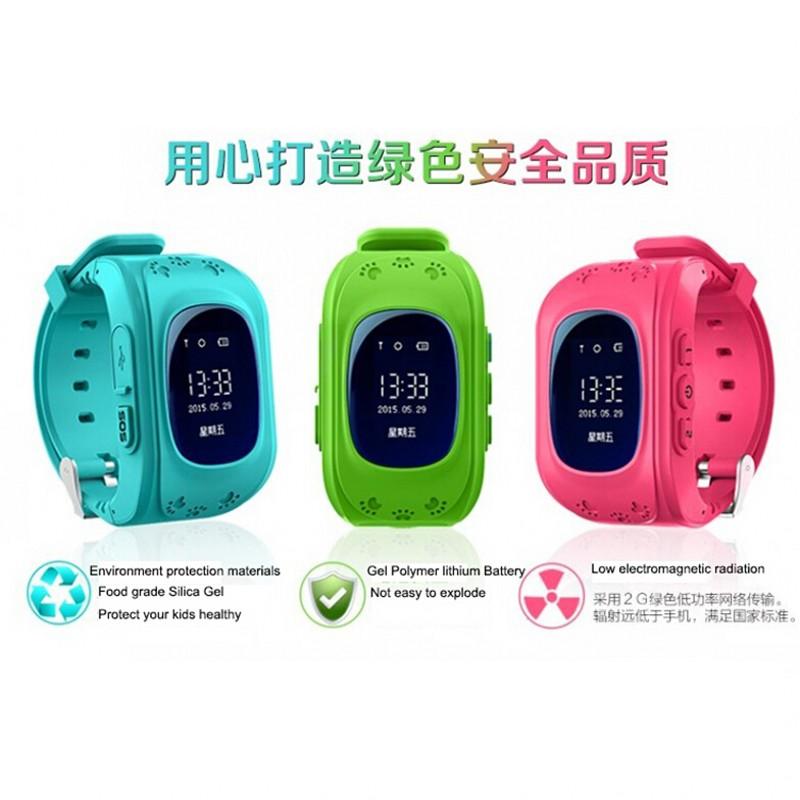 HOT Smart Watch Children Kid Wristwatch Q50 GSM GPRS GPS Locator Tracker