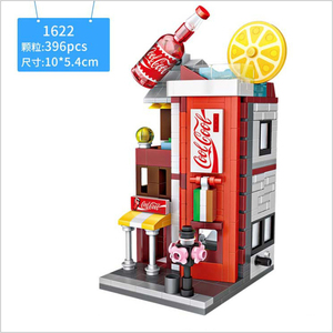 Loz 396pcs educational plastic building city sets toy brick for kids