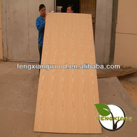 Oak veneered MDF sheets/boards