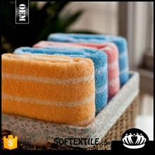 china supplier unique personalized blue and white striped bath towels