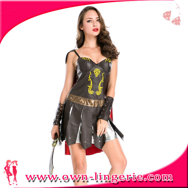 Halloween cool medieval suit cosplay costumes medieval knight costume for female