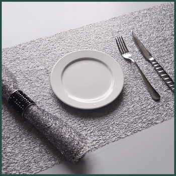 New Design Hotel Table Mat Table Runner Hotel Dish Placemat Hotel Napkin