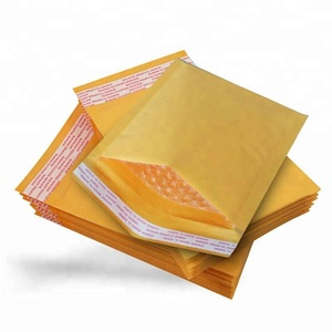 Best Selling Customized Printed Tear Proof Kraft Paper Padded Shipping Bubble Mailers Envelope