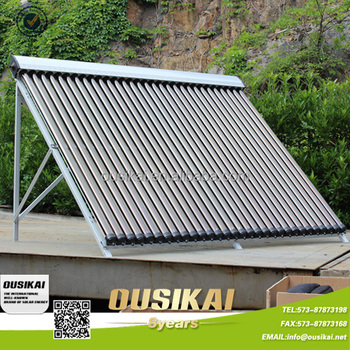 Pressurized Aluminum Alloy Shell Heat Pipe Solar Collector