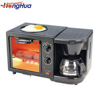 New products multifunction oven toaster of 3 in 1 breakfast maker