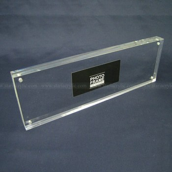 Panoramic Clear Block Frame,Acrylic Sandwich Frames,Perspex Picture ...
