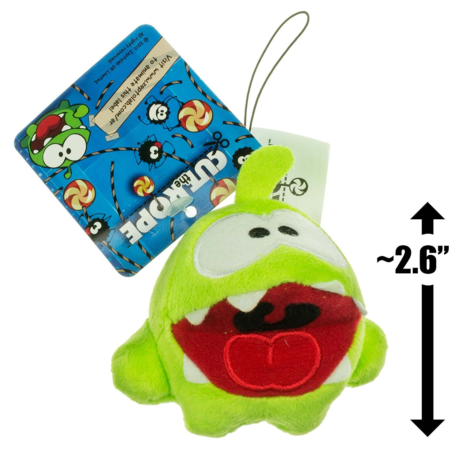 Cut the Rope Hungry Om Nom Plush Toy 5