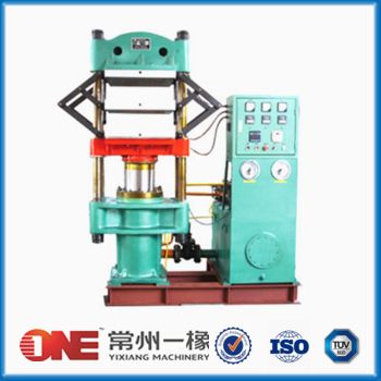 silicone rubber compression molding press machine