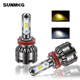 Auto Parts Car Led light S5 H4 H7 H8 9005 9006 headlights bulbs 45W 8000LM Auto parts