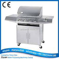 CE Approved Stainless Steel High Quality Gas Outdoor BBQ Barbecue Grill/BBQ Grill for Sale with Prices