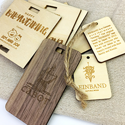 Wood Tag Gift Wood Hang Tag custom wooden hang tag for clothing