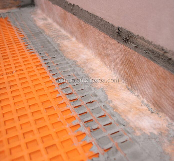 Afkoppelen Membraan Gebruikt Voor Waterdichte Vloeren