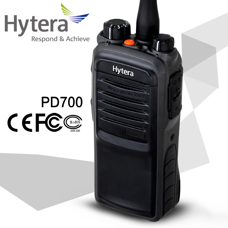 Original china portable powerful 100 mile hytera pd700 walkie talkie with low price 15km