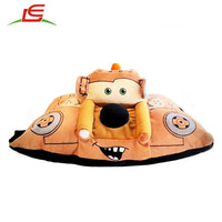Hot Sell Pixar Cars Mater Stuffed Plush Kids Cuddly Toy Car pillow