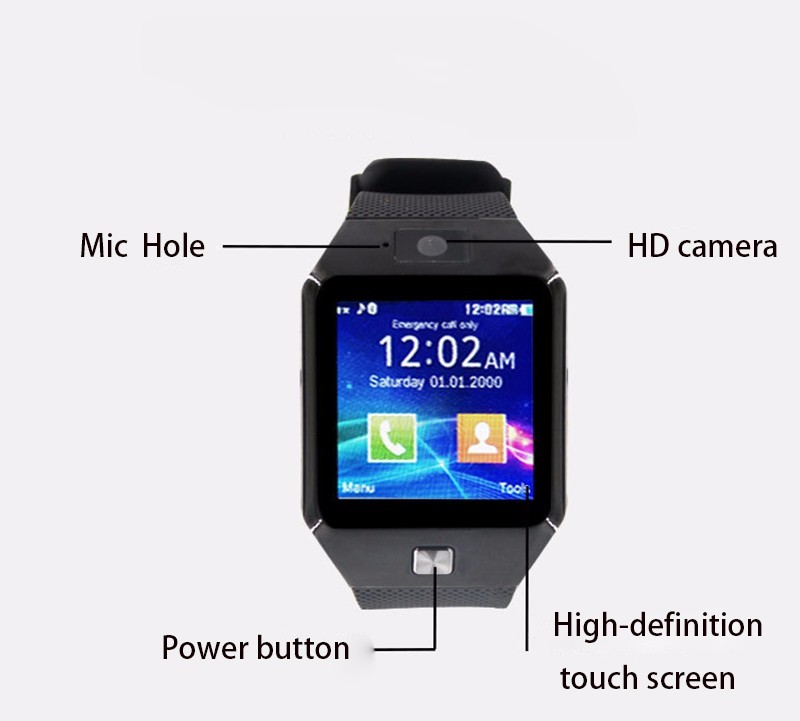 2018 New product Smart Watch Sport Tracker Wifi Heart Rate Monitor Kids Watches With Games