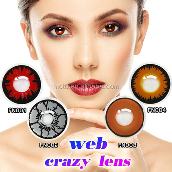 Tokyo Anime Crazy Color Contact Lenses Eyes Contacts Lens