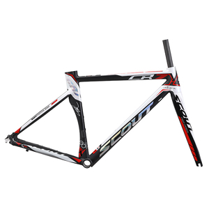 high quality bicycle alloy frame road bike carbon fork V brake