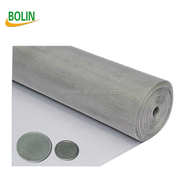 plain weave/twill weave nichrome wire mesh in household items