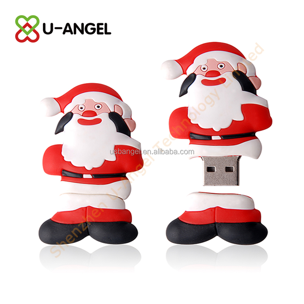 New Coming PVC Custom 64GB Christmas USB,Santa Claus USB 2.0 For Christmas Gift,2014 Christmas Santa claus usb