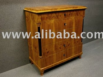 Chest Of Drawers In Biedermeier Style Furniture