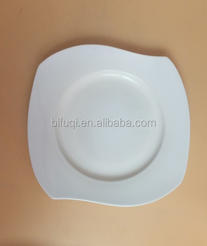 Restaurant dinning rotating ceramic plates for hotel cheap white porcelain dinner plates bulk stock & Restaurant Dinning Rotating Ceramic Plates For Hotel Cheap White ...