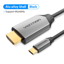 Vention Type C HDMI кабель USB C к HDMI 4K конвертер для Huawei Mate 20 P20 Pro MacBook Pro Samsung Galaxy S10/S9 USB C HDMI(Китай)