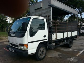 ISUZU NPR71 14ft HIGH DECK WITH CANOPY AND POWER TAILGATE & Isuzu Npr71 14ft High Deck With Canopy And Power Tailgate - Buy ...