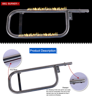 Replacement Gas Grill Burner Bbq Burner U Shape Gas Pipe Burner - Buy  Replacement Gas Grill Burner Bbq Burner U Shape Gas Pipe Burner,Gas Burners  For