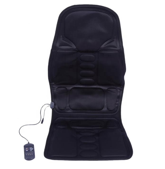 Health Care 100% True Electric Car Seat Vibrator Back Neck Massagem Cushion Heat Pad Chair Massage For Legs Waist Body Massageador Electric Massager