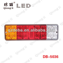 Tail Light Type and 12V/24V Voltage led truck LAMP COMBO