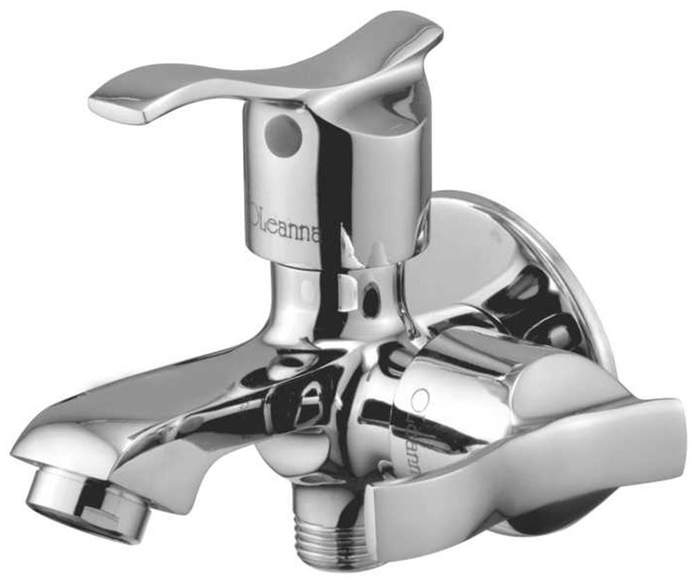 Oleanna Brass Angel 2 In 1 Bib Cock With Wall Flange A-05