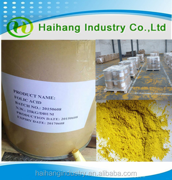 Vitamin b complex powder in stock 97.5% CAS:59-30-3 food grade
