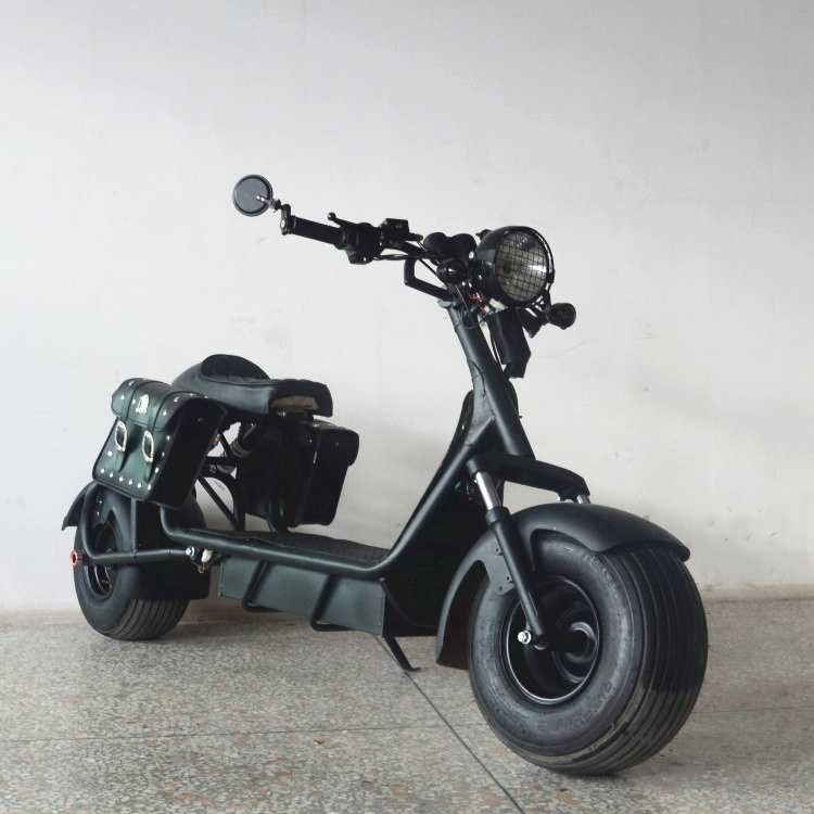 2018 newest 60V1500W brushless hub motor powerful electric citycoco scooter