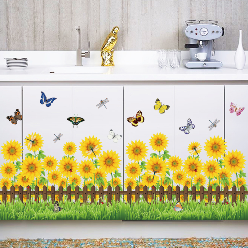 Removable 3d Flower Vinyl Good Kitchen Wall Decals Buy Good Kitchen Wall Decals Vinyl Wall Decals 3d Wall Decals Product On Alibaba Com
