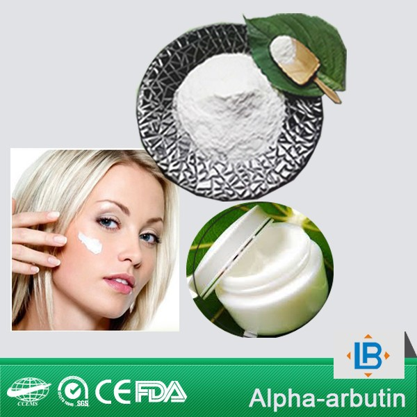 LGB 2015 popular pure alpha arbutin,beta arbutin,deoxyarbutin for foundation cream ingredients