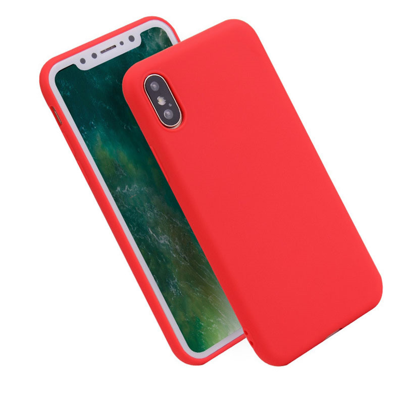 Newest Solid Silicone <strong>Case</strong> Microfiber Phone <strong>Case</strong> Cover Liquid Silicone Mobile Phone <strong>Case</strong> For iPhone Xs Max Xr X 5.8/6.1/6.5 inch