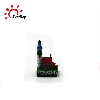 Wholesale custom resin 3d wisconsin souvenir building model for sale