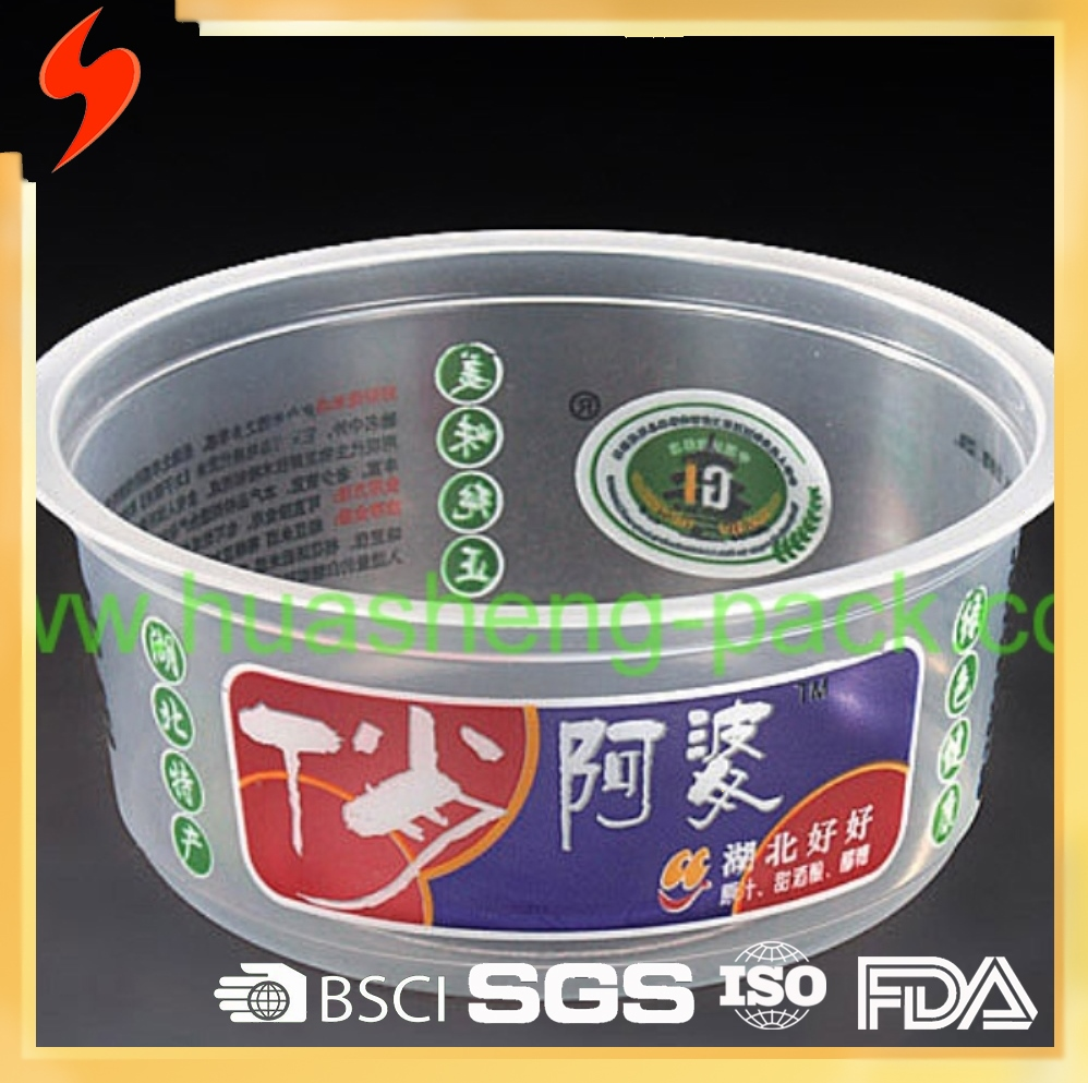 Eco friendly OEM Disposable Plastic food container