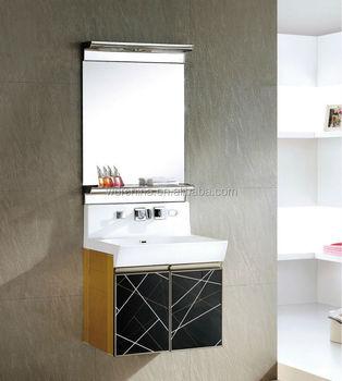 Moderne Salle De Bain Simple Style Grande Taille En Bois Armoire De ...