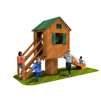 Kids Play Area Small House Outdoor Playground Equipment