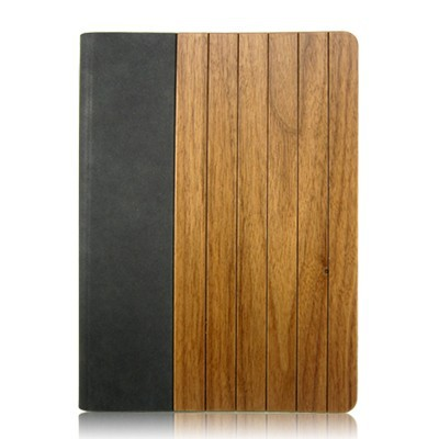 Hot Selling ultra thin leather Wood Wooden Case for <strong>iPad</strong>, for <strong>iPad</strong> Bamboo Wooden Case, leather flip case for <strong>ipad</strong>