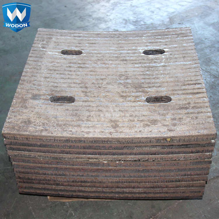 Wodon high chromium alloy bimetal wear Liner for coal mine machinery