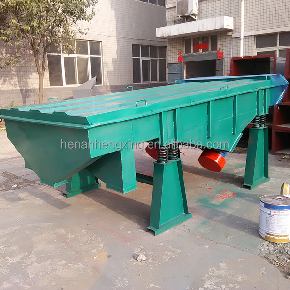 20 Mesh -100 Mesh Size Sieving Machine Linear Vibrating Screen