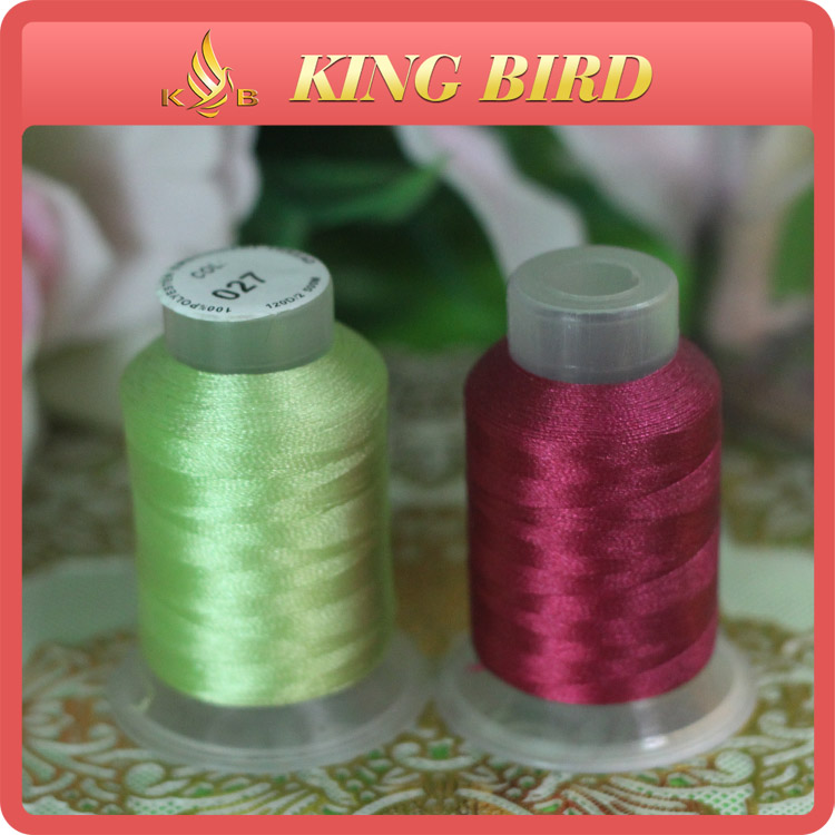 High Quality Hand Polyester Embroidery Silk Thread for Shoe Making