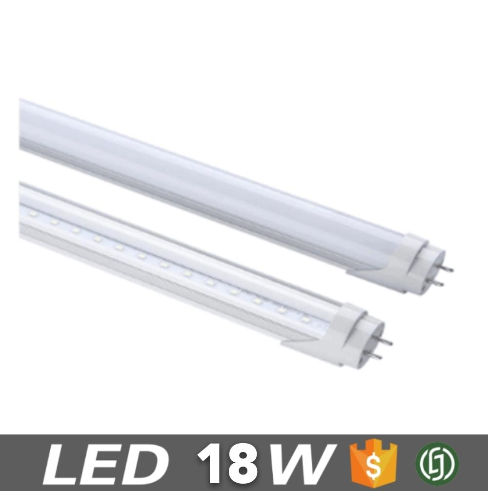 LA vendita calda HA CONDOTTO tubo individuale T8 1200mm LED18W 0.6 PF 3000-6500 k