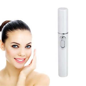 Blue Light Therapy Laser Treatment Pen Scar Acne Remover Anti Wrinkle Facial Massager Device