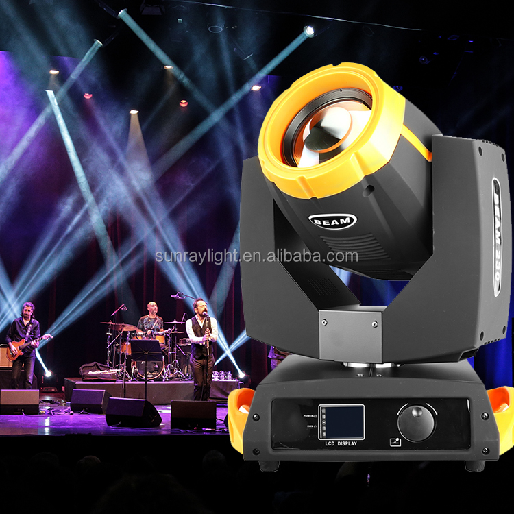 Stage Lighting Dmx512 16 Channel Control Beam Spot Dmx512 230W Sharpy Moving Head Beam Light