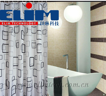 Hospital Bed Screen Curtain Anti Bacterial Fire Retardant Shower Medical Cubicle